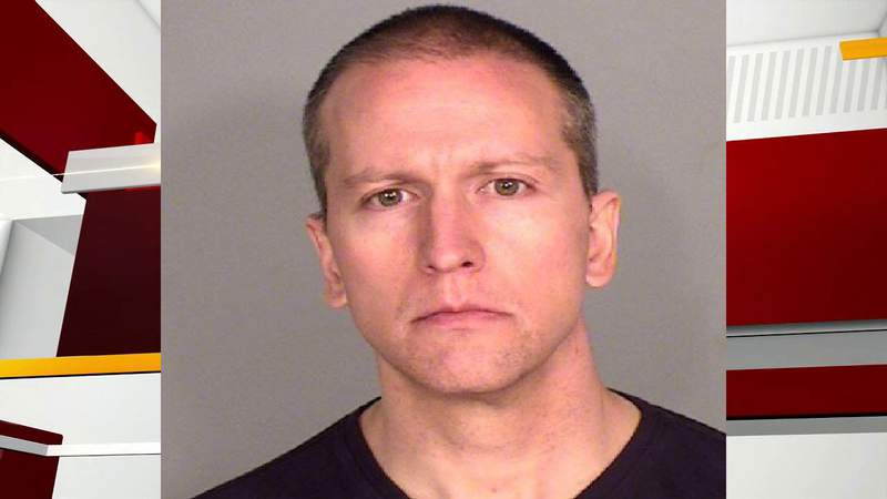 Authorities released the mug of Derek Chauvin who faces a murder charge in the death of George Floyd.