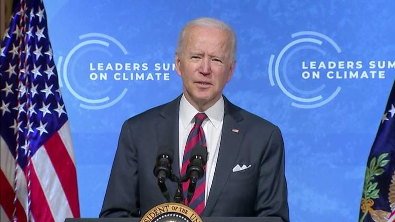 Biden says U.S. needs to act on climate change now