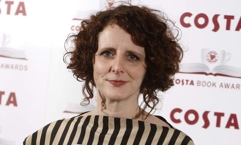 "FILE - Author Maggie O'Farrell poses for the media at the Costa book awards in London on Jan. 25, 2011. O'Farrell's ""Hamnet,"" an imagined take on the death of Shakespeare's son from the bubonic plague, has won the National Book Critics Circle prize for fiction. (AP Photo/Alastair Grant, File)"
