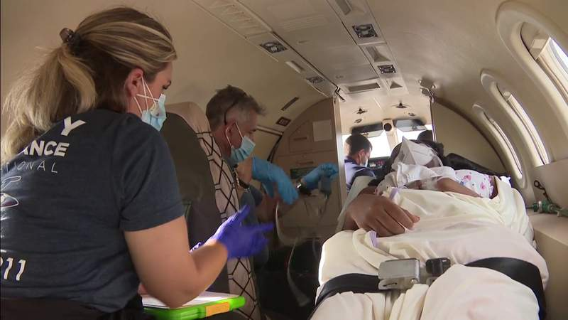 16-year-old earthquake survivor receives treatment in South Florida