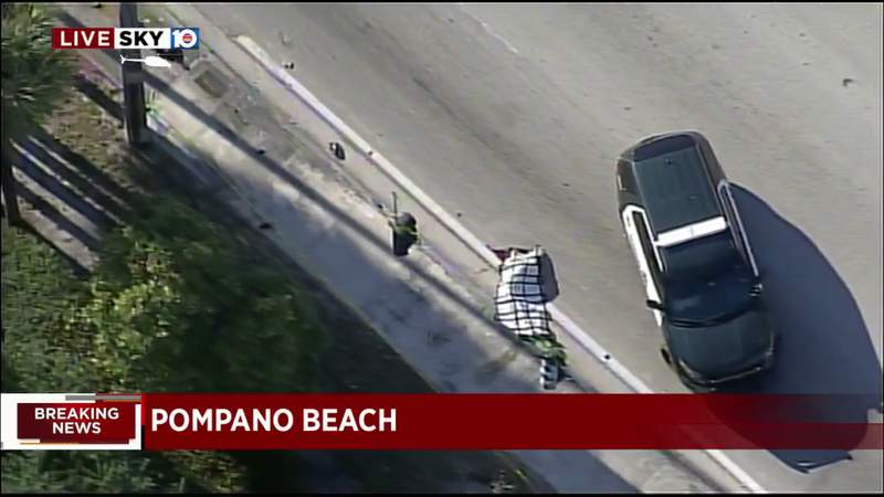 Officers investigate street fatality in Pompano Beach