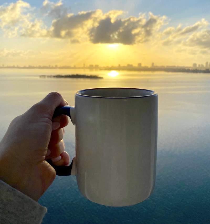 Miami loves coffee. Photo by Nicole Lopez-Alvar.