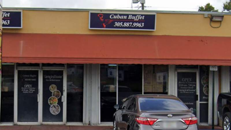 Inspectors recently ordered the Cuban Buffet in Hialeah to close.