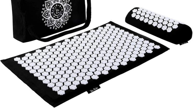 Dr Relief acupressure mat.