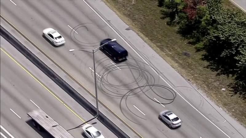 Police investigating dangerous drivers causing wrecks with rolling roadblocks