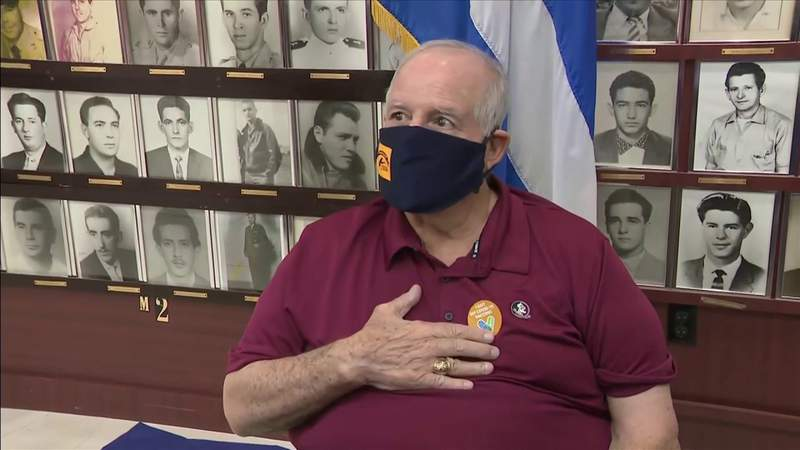 Bay of Pigs veterans get COVID-19 vaccines from Florida government