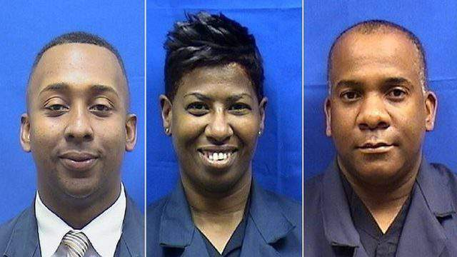 Former Miami police officers James Archibald, Schonton Harris and Kelvin Harris have been sentenced for their roles in a drug trafficking conspiracy.