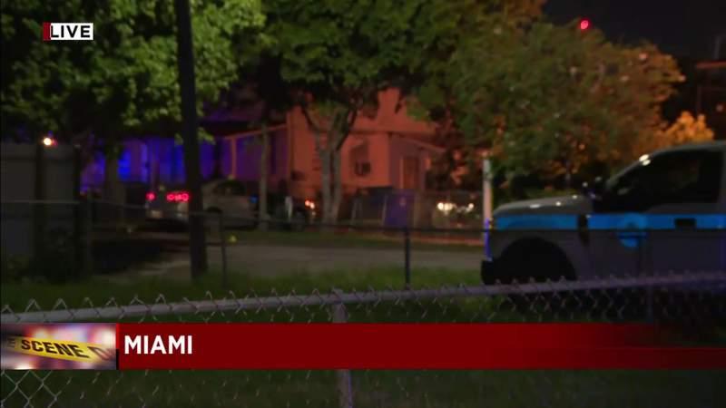 Miami detectives investigate shooting killing 1, injuring 2 in Allapattah