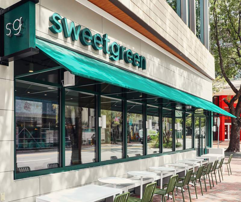 Sweetgreen opens second location in Coconut Grove at CocoWalk