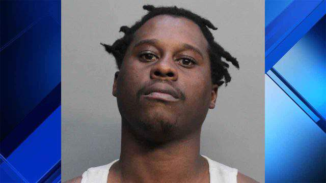 Steker Jean Jr. is accused of leaving his two children alone in his Miami apartment.
