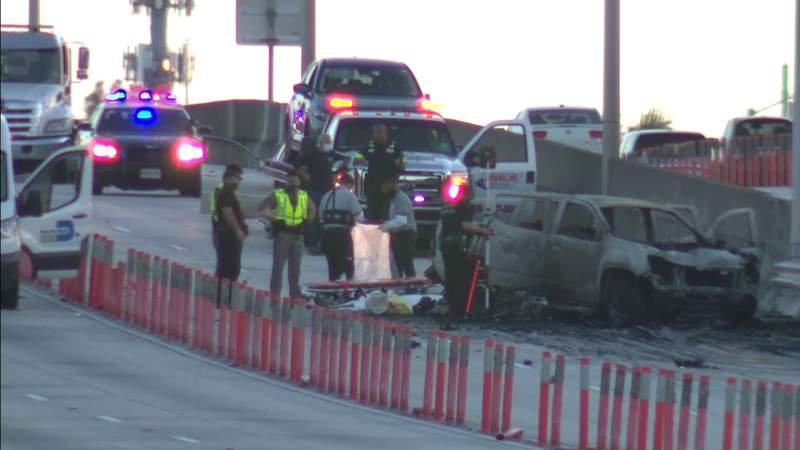 Motorcyclist dies in multi-vehicle crash on I-95 NB in Miami-Dade