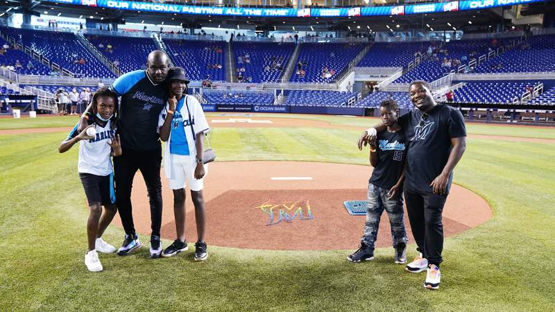 Miami Marlins host transgender teen Chad for VIP experience