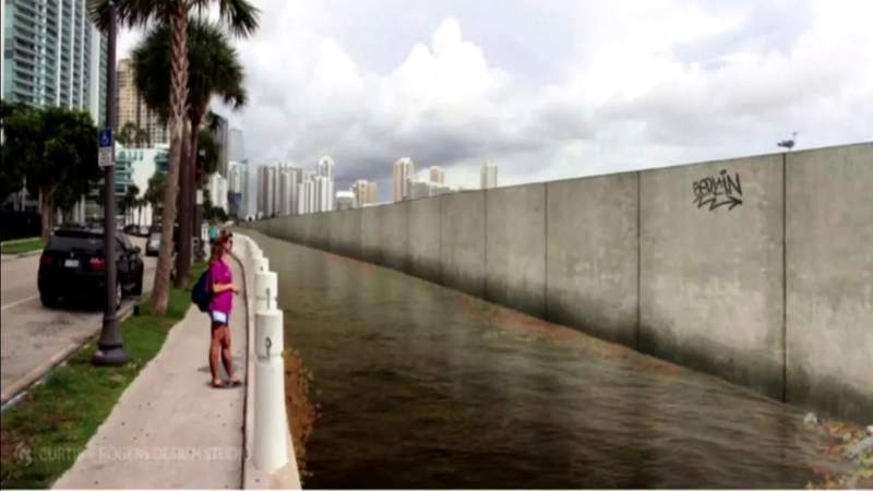 Plan ongoing to help Miami-Dade coastline from climate change impact