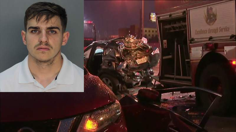 Alexander Martinez is facing multiple charges after a fatal crash on I-95 in Miami.