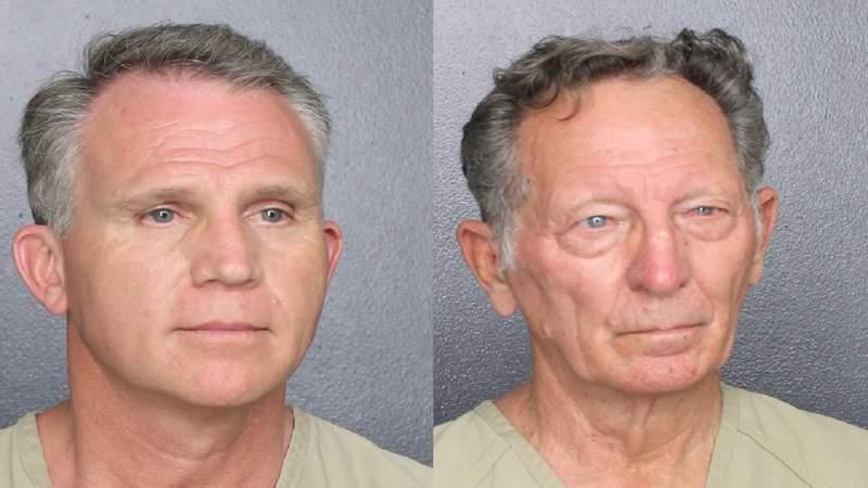 From left: Walter Wayne Brown Jr., 53, and Gary Brummett, 81.