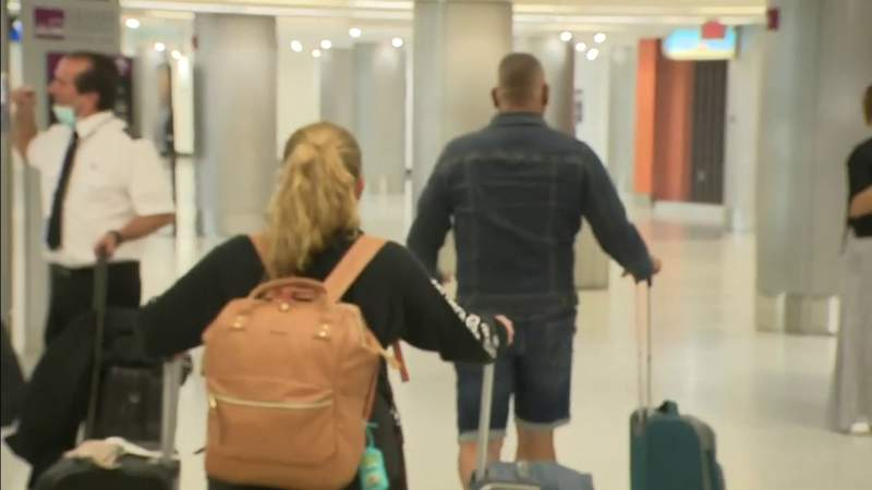 Passengers from Cuba arrive at MIA after weekend protests