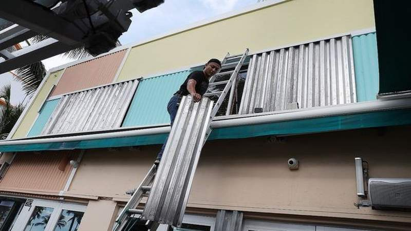 Should you put up shutters for Tropical Storm?