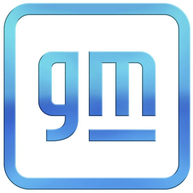 This image provided by General Motors shows the new company logo.  General Motors is changing its corporate logo and starting an electric vehicle marketing campaign as it tries to refurbish its image from a maker of gas-powered pickups and SUVs to a clean vehicle company. The 112-year-old Detroit automaker says, Friday, Jan. 8, 2021, the campaign will show GMs progressive company vision as it promises to roll out 30 new battery-powered vehicles globally by the end of 2025. (General Motors via AP)