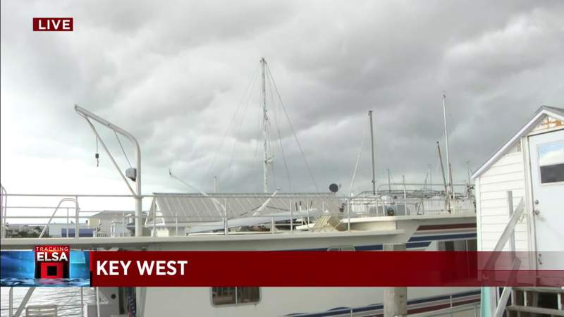 Tropical Storm Elsa: Key West under warning; Ocean Reef under watch
