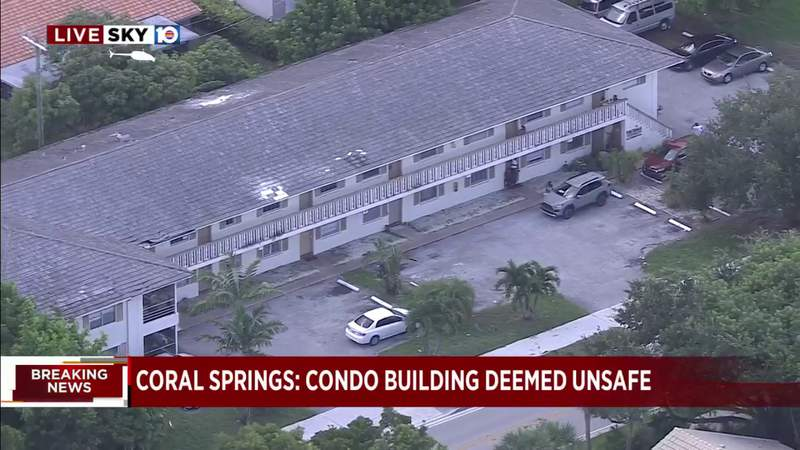 Broward condo building ruled unsafe and tenants must vacate