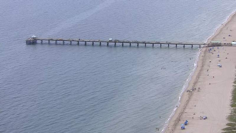 A woman was pulled from the water July 6 near the pier off Lauderdale-by-the-Sea.