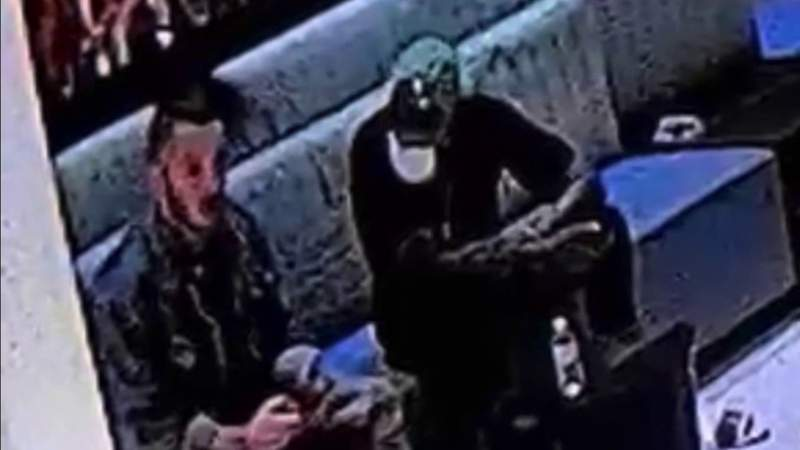 Miami police seek public's help identifying 2 men sought in connection with woman's beating