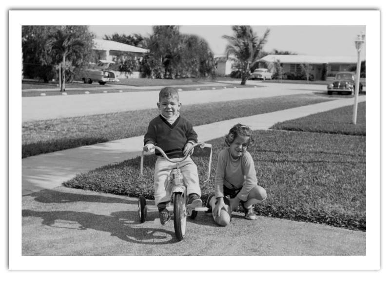 """Max and Jacqueline Gutstein. """"The Westchester Kids"""" book author and her brother."""