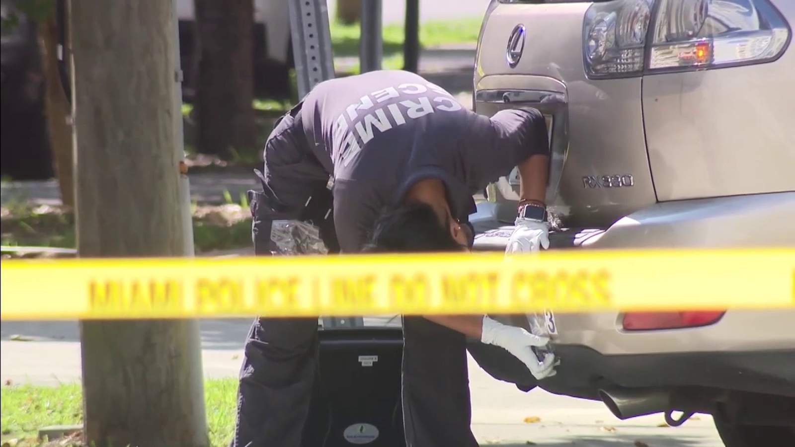 Man found shot in SUV in front of Brickell building