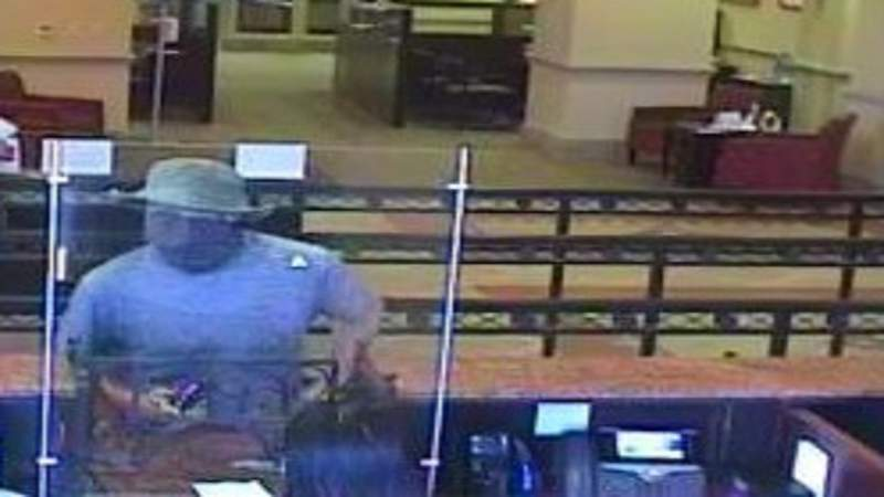 Man who robbed Wells Fargo Bank in Coral Gables.
