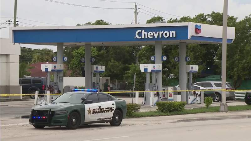 Investigation continues into deadly shooting near Pompano Beach gas station