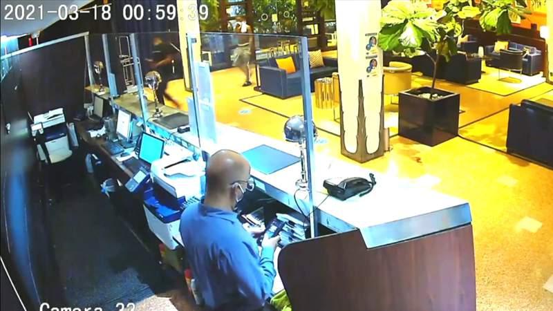 Surveillance video shows suspects in Miami Beach hotel death at scene of crime