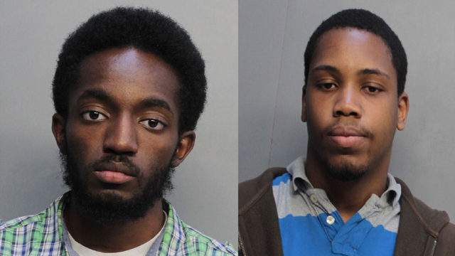 Taylor Dansby, 21, (left) and James Chatelian, 23, are the only two suspects who remain in jail as of Aug. 6 in Miami-Dade County following an initiative to combat the distribution and promotion of online sexual exploitation of children.