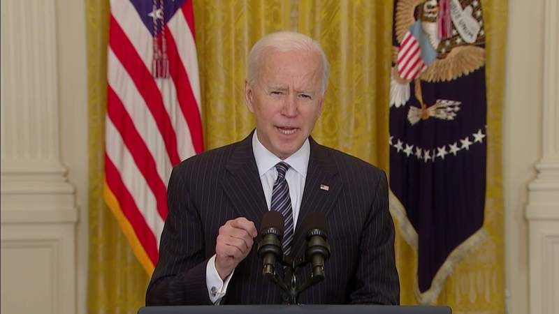 Biden says U.S. will pass 1 million COVID-19 vaccines Friday
