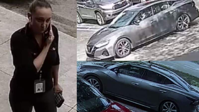 Detectives released the photograph of a woman accused of stealing packages from FedEx.