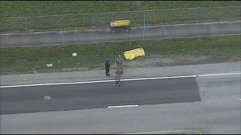 Sky 10 over fatal hit-and-run in Homestead.