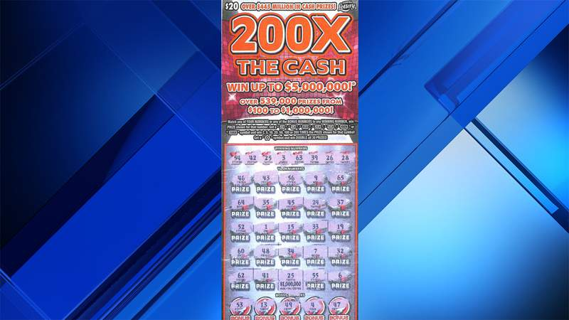 This is the ticket that landed a Miami-Dade County man a $1 million prize.