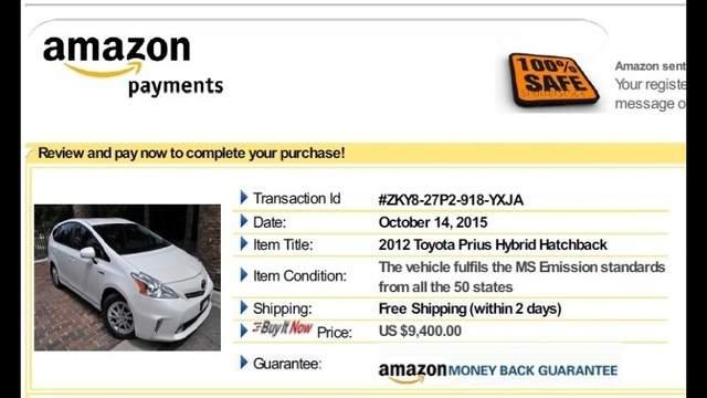 Ebay Motors Vpp Buyer Consumer Alert Amazon Online Car Scam
