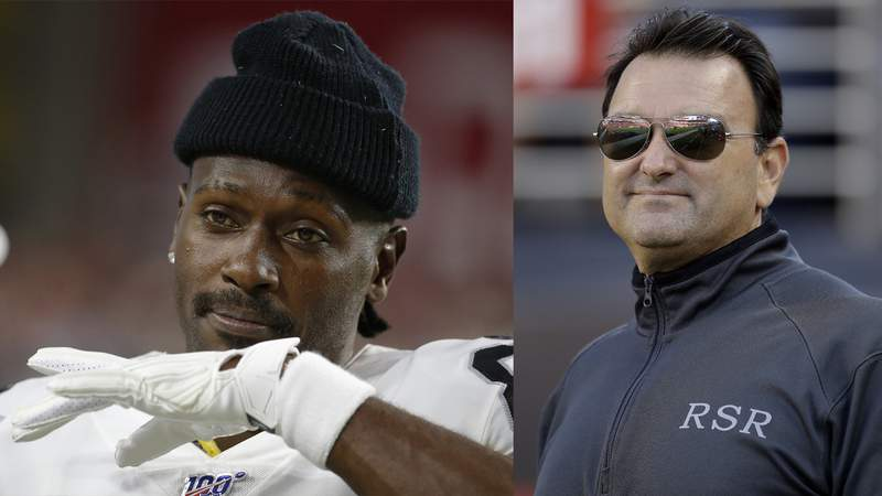Agent Drew Rosenhaus has dropped client Antonio Brown until the receiver seeks counsel.