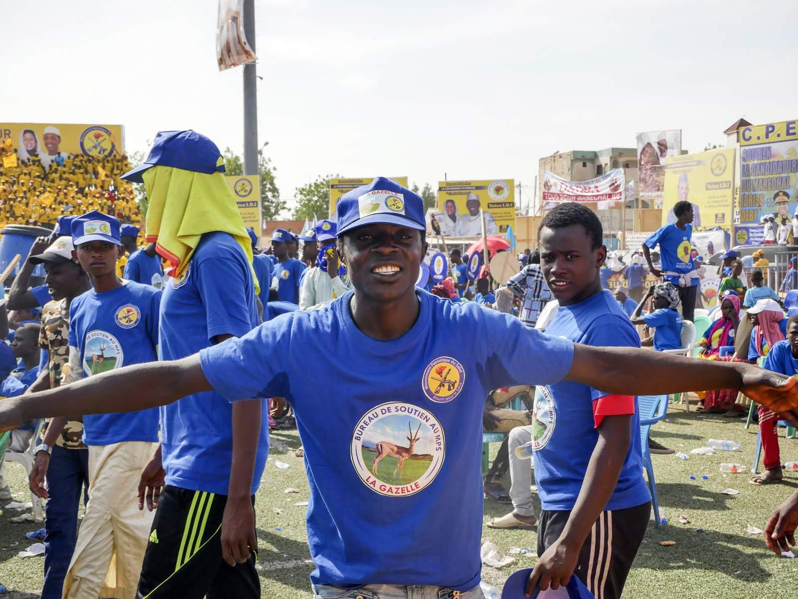 El presidente Chadiano busca su sexto mandato después de 30 años en el poder