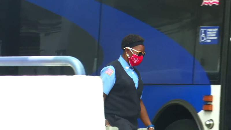 Public transit workers demand more protective equipment during pandemic