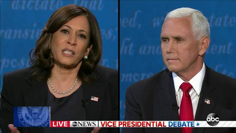 Harris and Pence face off in Vice Presidential Debate