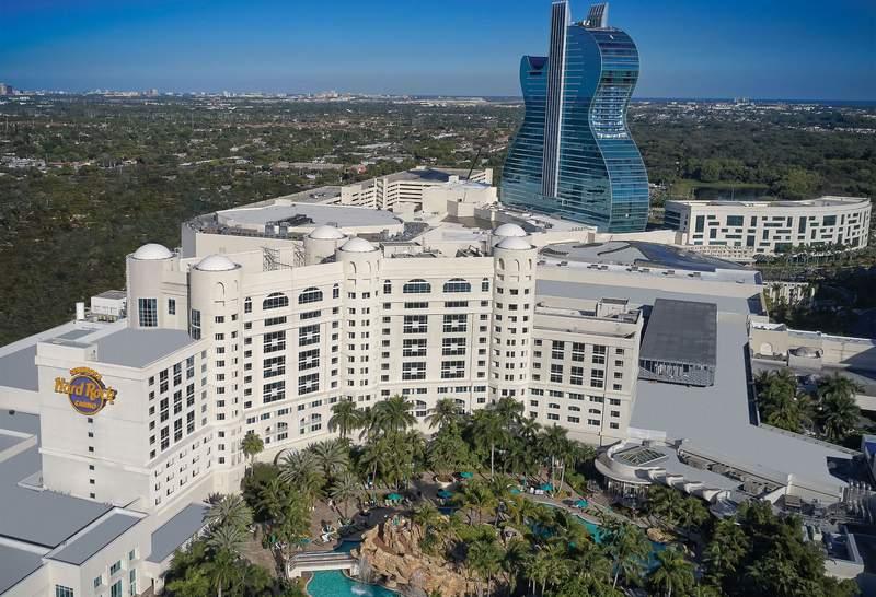 Hard Rock Hotel and Casino, Hollywood, Florida.