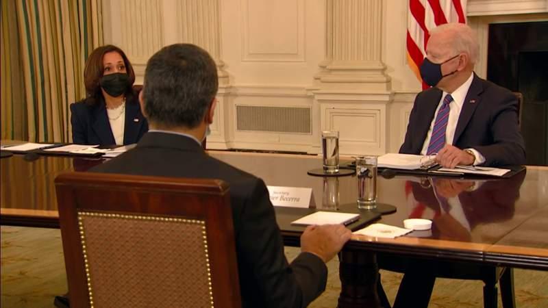 President Biden takes on border crisis, putting VP Harris in charge