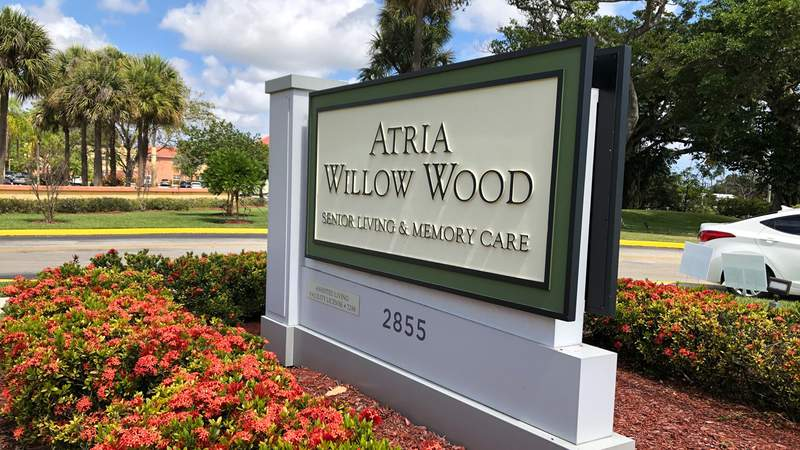 A 77-year-old man that died after contracting coronavirus was living at the Atria Willow Wood assisted living facility in Fort Lauderdale.