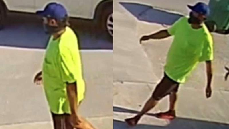 The Miami Police Department released these photos on Monday in the case of a serial robber.