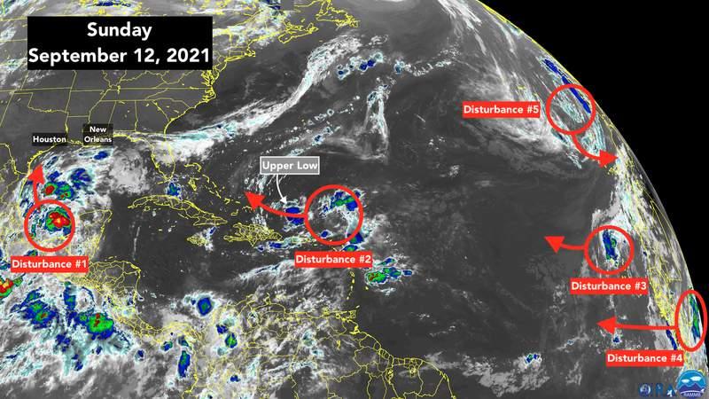 Satellite imaging of tropical Atlantic