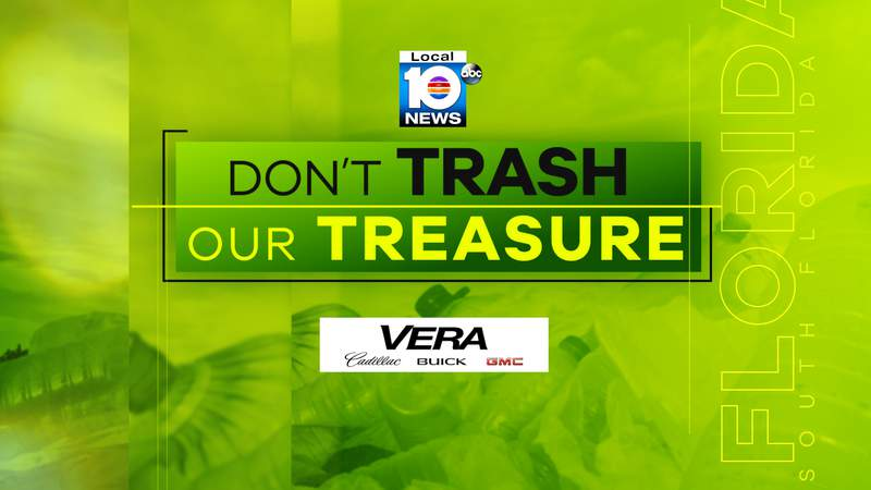 Don't Trash Our Treasure is a a Local 10 News environmental initiative.