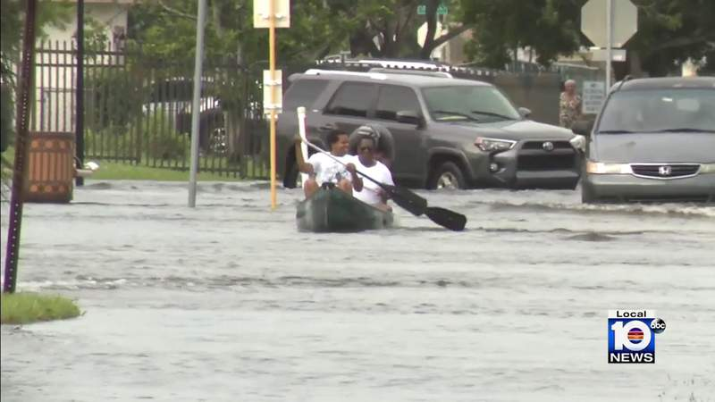 In Lauderhill, residents say they've never had flooding like what Eta left behind