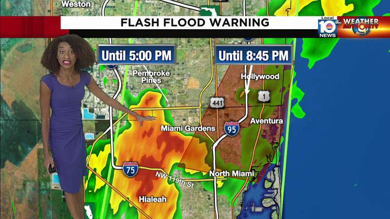 Flash Flood Warning issued for parts of South Florida