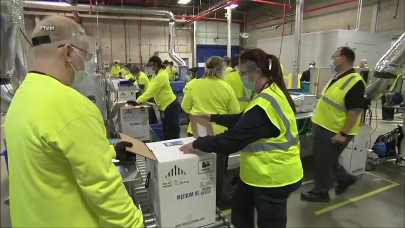 Florida planning coronavirus vaccine pods for mass distribution